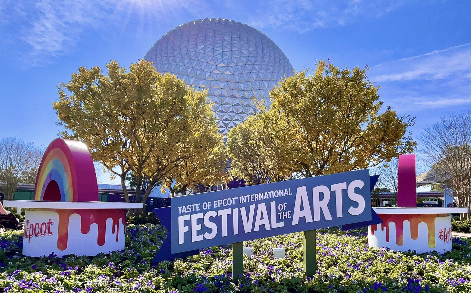 2021 Epcot Festival of the Arts Entrance