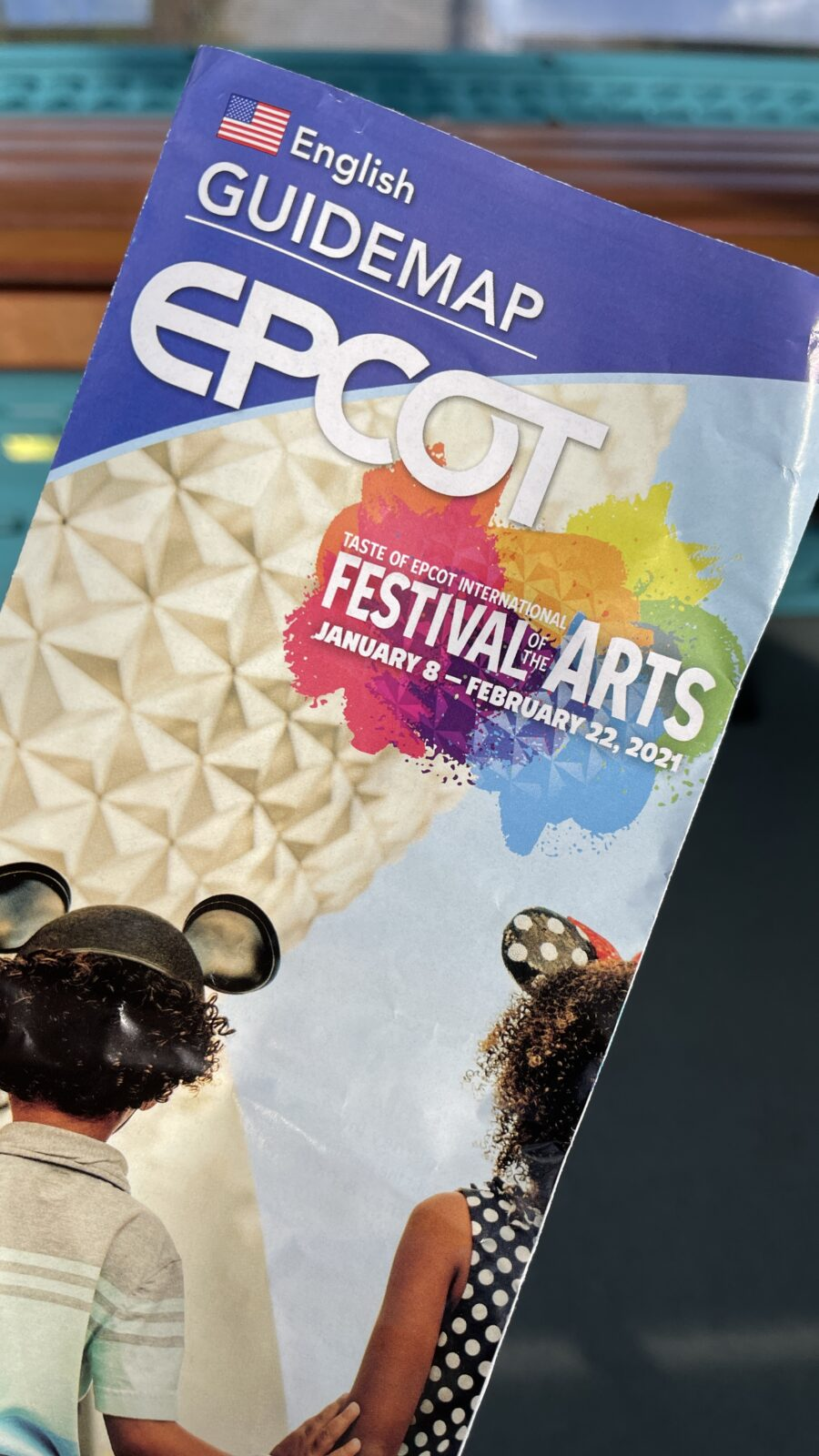 2021 Epcot Festival of the Arts - Mural