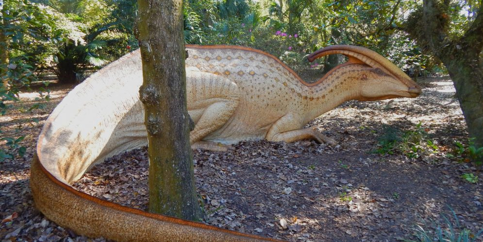 On the Go this weekend January 2021 Dinosaurs Leu Gardens