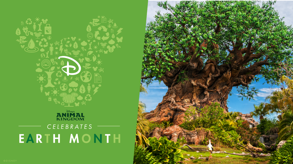Earth Month 2021 Disney's Animal Kingdom