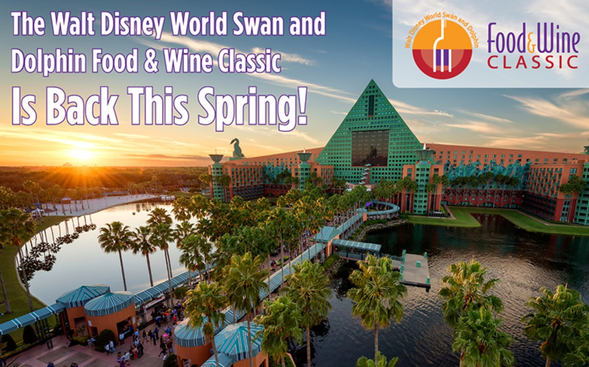 Swan and Dolphin Spring Food & Wine Classic 2021