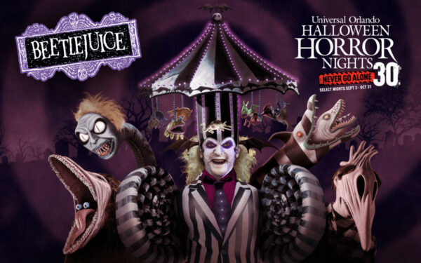 Halloween Horror Nights - Beetlejuice Artwork