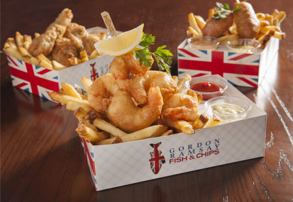 Gordon Ramsay Fish & Chips