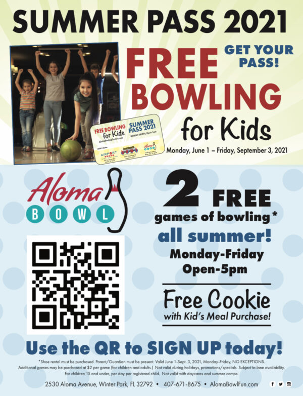 On the Go In MCO Indoor Activities for Kids Aloma Bowling