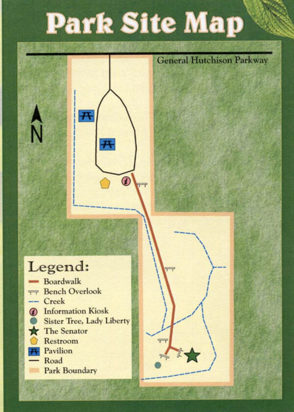 On the Go In MCO Explore the Great Outdoors Big Tree Park Map