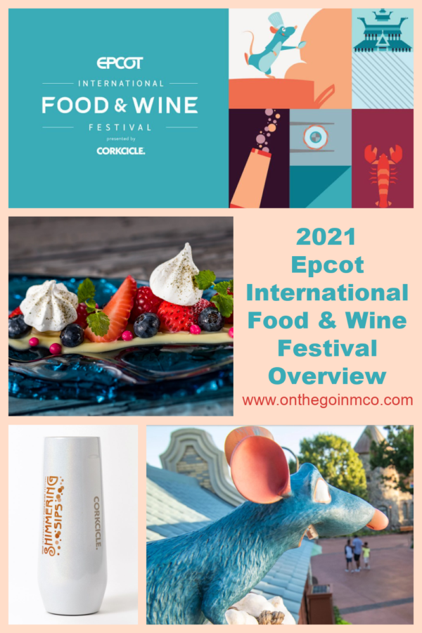 Epcot International Food and Wine Festival 2021 Pinterest On the Go in the Parks