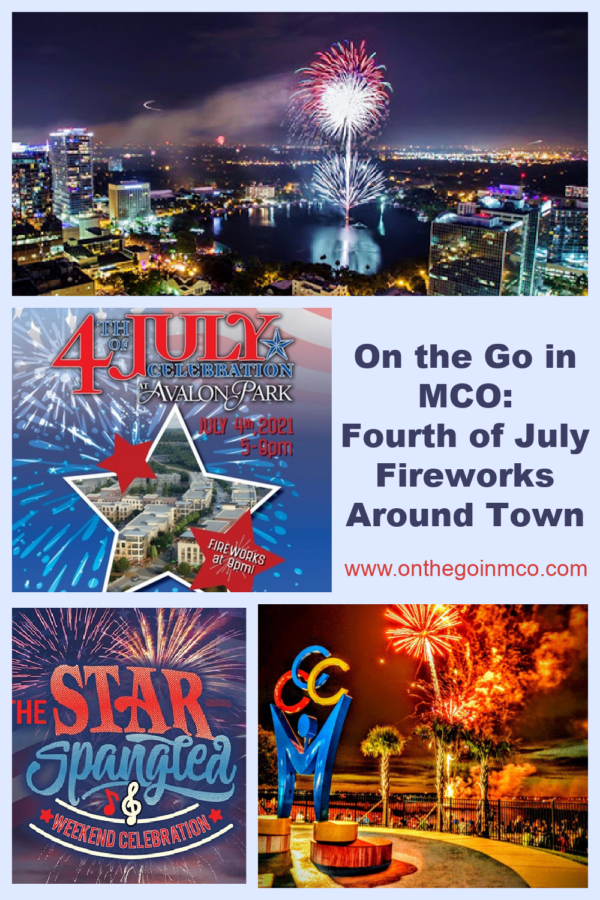 On the go in MCO Fourth of July Fireworks 2021