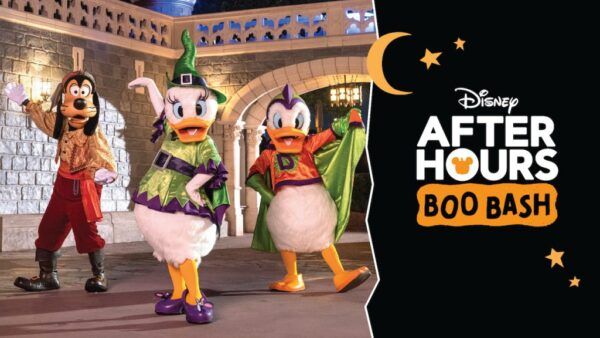 Disney's After Hours Boo Bash Header Halloween in the Parks