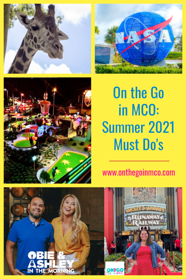 On the Go in MCO Summer Must Do's