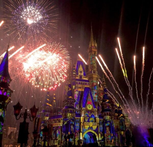 On the Go in the Parks - Happily Ever After Magic Kingdom