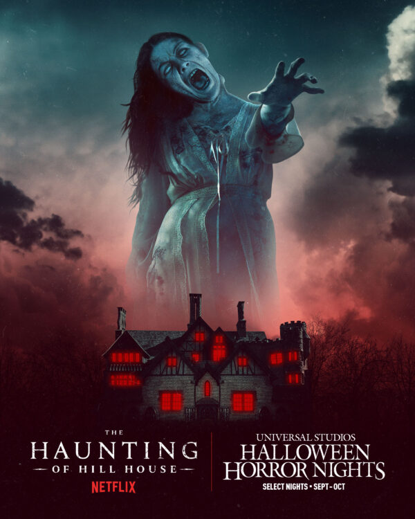 Halloween Horror Nights 2021 The Haunting of Hill House