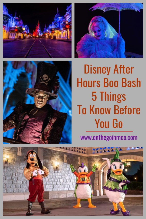 Disney After Hours Boo Bash 2021