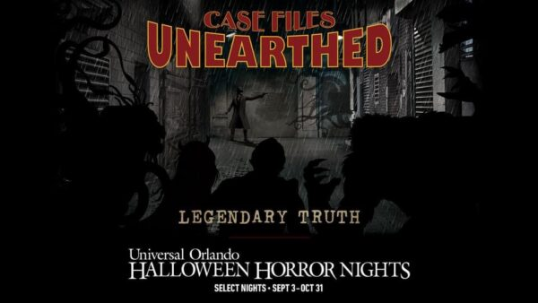 Halloween Horror Nights 2021 Case Files Unearthed