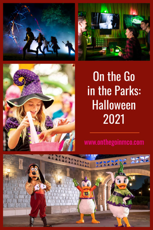 On the Go in the Parks Halloween 2021 Overview