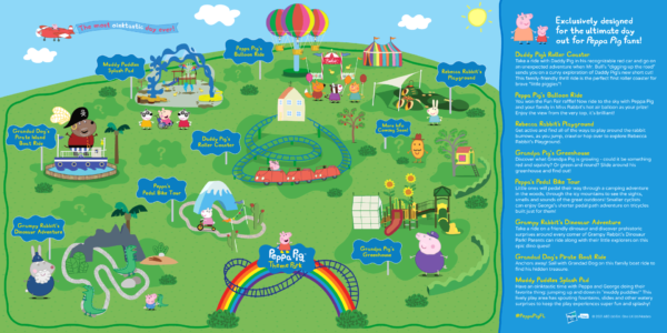 Attraction Map_Peppa Pig Theme Park Florida