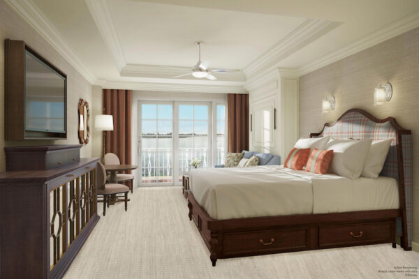 Disney Vacation Club Grand Floridian Updates Bedroom King