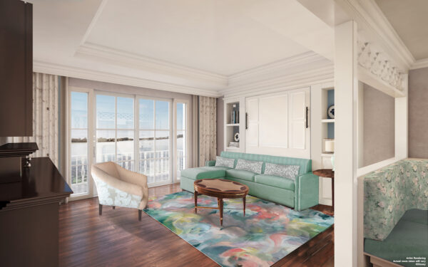 Disney Vacation Club Grand Floridian Updates Living Room
