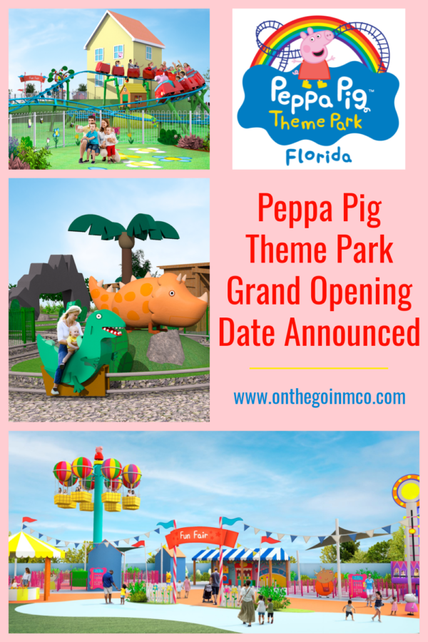 Peppa Pig Theme Park Grand Opening Announced